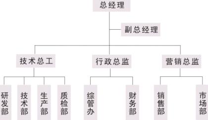 公司管理构架(图)